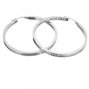Jewelry - 🍒NEW🍒INSIDE OUT STAINLESS STEEL HOOPS
